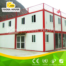 Small movable prefabricated houses container office