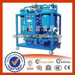 High Efficiency Turbine Oil Purifier, Used Turbine Oil / Ship Oil Filtering Machine, Oil Filter Parts