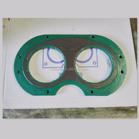 concrete truck pump spare parts wear plate and cutting ring
