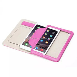 Wholesale Flip Leather Case For Mini IPAD 4 Stand Holder Handheld Leather Shell Case