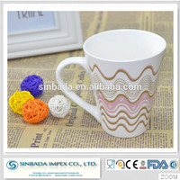 ceramic drinking items china products eco-Friendly porcelain mugs to customize