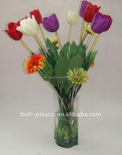 Barato vasos de flores elegante vaso de plástico