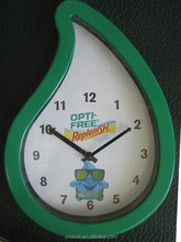 Plastic promotional custom wall clocks