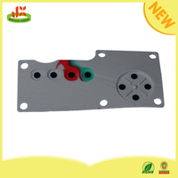 Factory price dustproof rubber silicon keypad