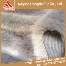 Gold supplier China wholesale faux fur fabric fur for strips / faux fur upholstery fabric