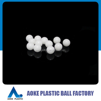 "plastic POM delrin 5/16"" inch 7.938mm solid balls"