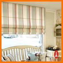 Curtain times decorative roman sheer with sun screen fabric roller