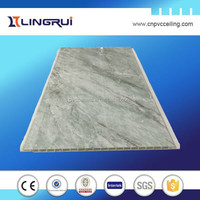 BUILDING MATERIALS UV MARBLE PANEL PVC ROOFING DESIGN,DECORATIVE PVC PANEL