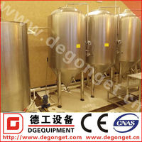 500L Double Stainless Steel Conical Fermentation Tank