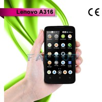 china cheap unlocked cell phones lenovo a316 4.0 inch touch screen
