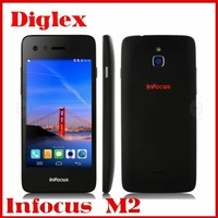 2015 Cheap Original 4.2inch Foxconn Infocus M2 Quad core 1GB+8GB 4G LTE GSM WIFI Multilanguage android 4.4 Cell Phone