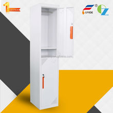 High quality knock down structure locker/ wardrobe cabinets/steel wardrobe lockers for bedroom/hotel/gym