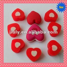 2014 NICE&LOVELY HEART ERASER FOR VALENTINE GIFT