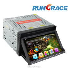 7 inch TFT touch screen slide down car DVD player with 3G wifi.