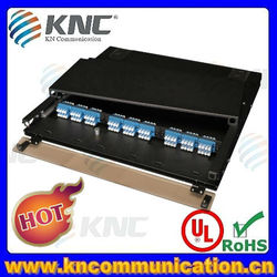 12 ports 24 ports to 288 ports fiber optic patch panel