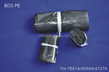 Top quality most popular absorbing small black PE bag