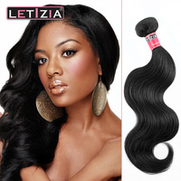 Wholesale best quality grade 5A body wave peruvian hair