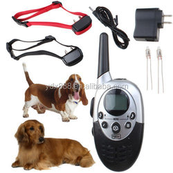 A+Trainer 1000 meters extreme distance control Rechargeable and Waterproof Remote Pet Training Collar bark collar