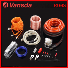 soft pvc complete audio copper wiring cable kit