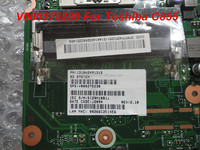 On sale V000275230 For laptop motherboard For Toshiba Satellite C855 NON-integrated motherboard 100% tested&free shipping