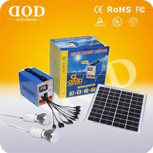New Design 12v 10w Portable Solar Home System Dc Solar System For Charging Mobile Phone