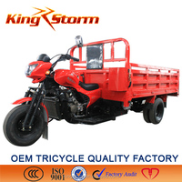 China cheap new design heavy load 300cc water cooling carga electrica triciclo
