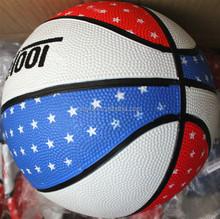 High quality OEM promotion deep seam rubber basketball