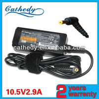 10.5V 2.9A AC adapter charger for Sony Laptop VPCX AC Power Adapter Charger VGP-AC10V5