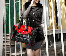 2014 new feather bag leisure space bag fashion female bag classic color Authentic lady's bag