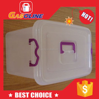Classical various plastic storage box with sliding cover