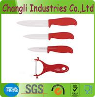 Colour handle ceramic kitchen knife for sale