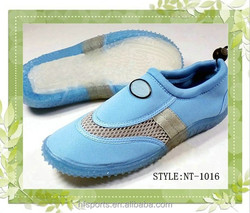 2015 Customer Designer Water Shoes For Beach with softer and light TPR sole