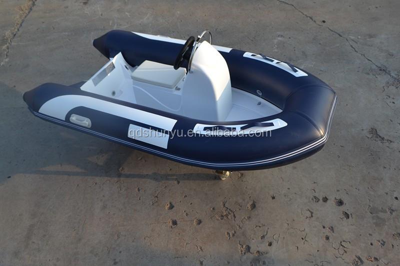2015 small rib boat fishing inflatable boat portable for Portable fishing boat