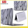 2015 new arrival Zebra design plastic PC case for Macbook laptop