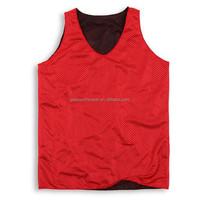 Wholesale cheap blank training practice reversible mesh basketball jersey