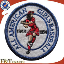 china manufacturer hot sale iron on hand patch embroidery for sports