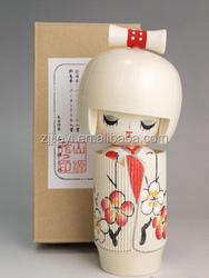 wooden decorative fashion wedding doll
