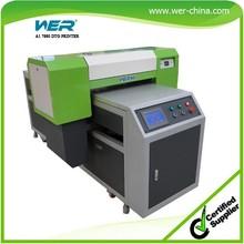 a1 uv led flatbed printer 8 color printing for any hard materials uv printer