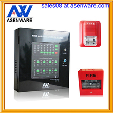 fire alarm at hotel 24V DC conventional addressable system