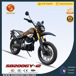 Hot New 200CC Cheap Black Motorcycle Dirt Bike SD200GY-12