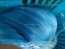 Shiny blue nylon monofilament fishing net with best quality
