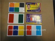 flag face paint / pantone colour fun face/face painting pencils