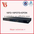 16FE+16 PUERTOS Unidad pasiva de red óptica MDU, tela de fibra óptica