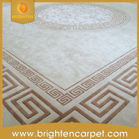 High quality hotel wool handmade banquet hall carpet
