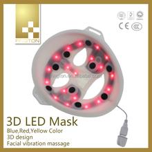 2015 New Product skin care 633nm led biofeedback LED Mask