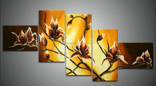 Hot selling Modern decor flower painting on canvas giclee supplied by China manufacturer