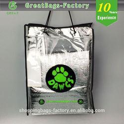 Reusable pvc carry bag