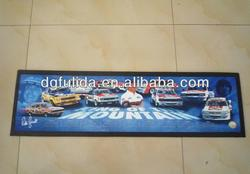 King of the Moutain Cars Printed Promotional Bar Mat/Gift Mat
