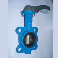 SS Butterfly Valve With Welding End/Clamped End