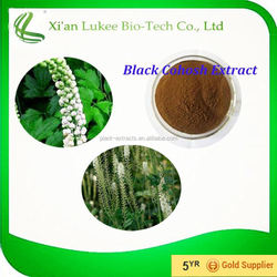Black Cohosh P.E. Black Cohosh Root Extract Triterpene Glycosides 8%